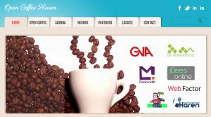 WebFactor Portfolio: Open Coffee Haren